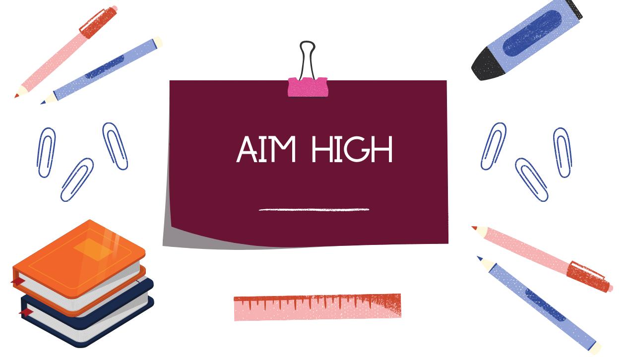 AIM HIGH EDUCATION WEBINAR | FREE